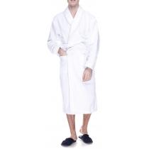 Халат махровый  XL, плотность  (400) цвет белый, 16/1 Белый
