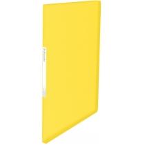 Папка с файлами Esselte Vivida, 20 файлов, желтая