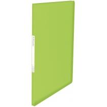 Папка с файлами Esselte Vivida, 20 файлов, зеленый