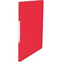 Папка с файлами Esselte Vivida, 20 файлов, красная