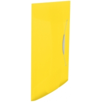 Папка на резинке Esselte Vivida PP, 150 листов, желтая