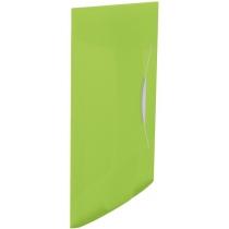 Папка на резинке Esselte Vivida PP, 150 листов, зеленый