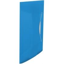 Папка на резинке Esselte Vivida PP, 150 листов, синяя