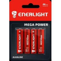 Батарейка ENERLIGHT MEGA POWER AA BLI 4