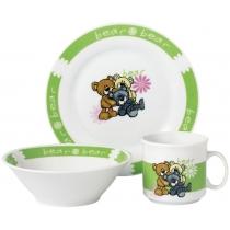 Набор посуды детск. Limited Edition BEAR /НАБОР/ 3 пр. короб