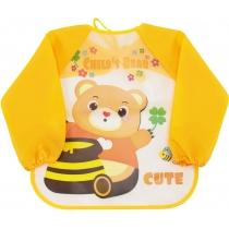 Фартух для дитячої творчості жовтий, 35 x 40 см
