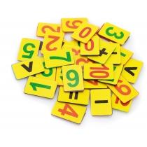 Набір магнітних цифр (від 1 до 10, знаки)
