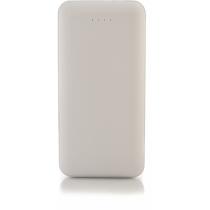 Мобильная батарея (Power Bank) Optima 4100, 10 000 mAh, 2*USB output, 5V 2.1A, белая