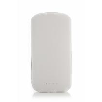 Мобильная батарея (Power Bank) Optima 4101, 5 000 mAh, 2*USB output, 5V 2.1A, белая