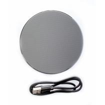 Безпроводное зарядное устройство Optima 4112, 10 W output, серебрянный