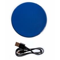 Безпроводное зарядное устройство Optima 4113, 10 W output, синее