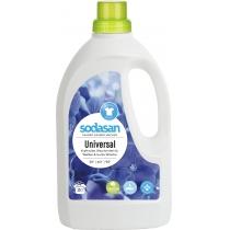 Органическое жидкое средство SODASAN Universal / Bright & White, с эффектом сохр.. яскр. цвета и бел