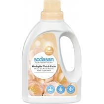 Органический Умягчители / ополаскиватель тканей SODASAN Fabric Softener для быстрой глажки, 0,75 л.