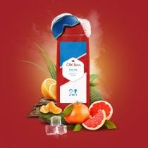 Гель для душа + шампунь Old Spice 2-в-1 Cooling  400 мл