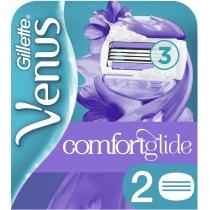 Сменные картриджи для бритья Venus Breeze c гелевой полоской, 2 шт