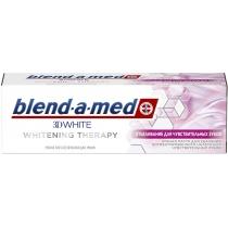 Зубная Паста Blend-a-med 3D White Whitening Therapy 75 мл, Отбеливающая Бережная Чистка