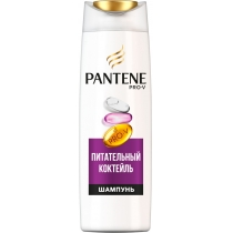 Шампунь для волос Pantene Pro-V Питательный Коктейль Для Ослабленных Волос 250 мл