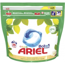 Капсули для прання Ariel Pods Все-в-1 Масло Ши 35 шт