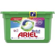 Капсули для прання Ariel Pods Все-в-1 Color 12 шт