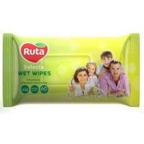 Влажные салфетки Ruta Selecta 60шт. для всей семьи