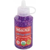 Клей для декорирования с конфетти 60 мл, фиолетовый