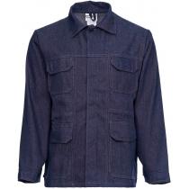 Куртка рабочая джинсовая Деним К6 темно синяя р.88-92/170-176