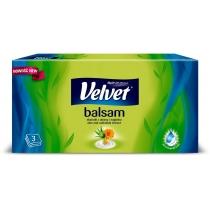 Серветки в коробці 4 шари Velvet Бальзам Алоє і календула ароматизовані 70 шт