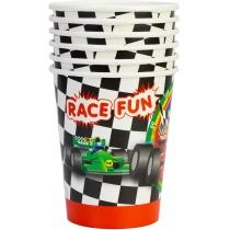 Набір з 6 склянок паперових Racing, 270 мл