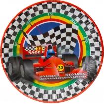 Набор тарелок бумажных Racing, диаметр 17,78 см