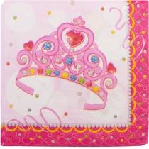 Набір з 20 двошарових серветок Princess 33х33 см