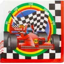Набір з 20 двошарових серветок Racing 33х33 см