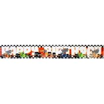 """Гірлянда-банер Racing """"Happy Birthday"""" 12,5х360 см"""