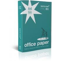 Папір White Star PRO 80 А4, 75 г/м2, 500арк. (Papir PTE)