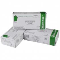 Перчатки смотровые латексные Medicare текстурированные припудренные раз. M (пач - 50 пар) белые