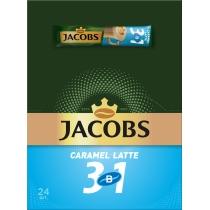 Кофейный напиток JACOBS 3в1 Caramel Latte 24 х 12,3 г