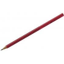 Олівець чорнографітний GRIP 2001 2В  червоний