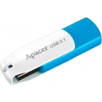 Флеш-драйв APACER 64GB USB 3.1 AH357 Blue/White (AP64GAH357U-1)