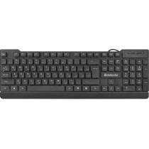 Клавіатура DEFENDER (45191) Element HB-190 USB RU чорна, повнорозмірна