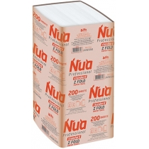 Рушники паперові 2-шари ZZ-складання 200 шт білі