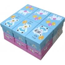 Коробка подарункова прямокутна для малюка 11*7.5*5.5 см, асорті