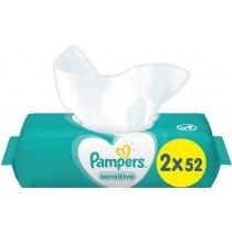 Cерветки Pampers Sensitive 2x52 шт