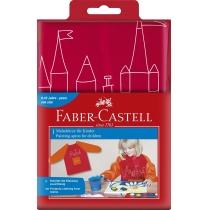 Фартух для малювання дитячий Faber-Castell червоний
