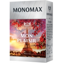 Чай черный с ароматом тропических фрукиив МОNОМАХ MON PLAISIR 80г