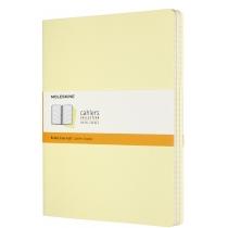 Набір зошитів (3 шт.) Moleskine Cahier 19 х 25 см / Лінійка Ніжний Жовтий