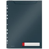 Файл для документів розширений А4 РР на 150 арк., Leitz Cosy, уп/3шт., сірий
