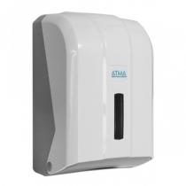 Тримач туалетного паперу TRA листовий білий