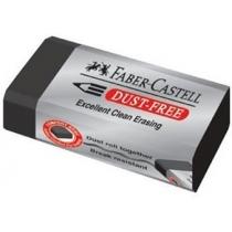 Гумка Faber-Castell Dust-Free вініловий чорний