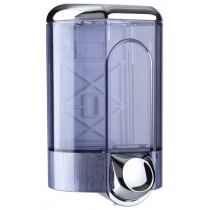 Дозатор рідкого мила ACQUALBA  1.1л, хромовий/прозорий, пластик