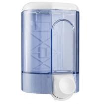 Дозатор рідкого мила ACQUALBA 1.1 л, білий/прозорий, пластик