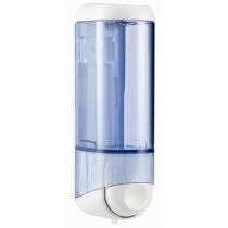 Дозатор рідкого мила ACQUALBA 0.25 л, білий/прозорий, пластик